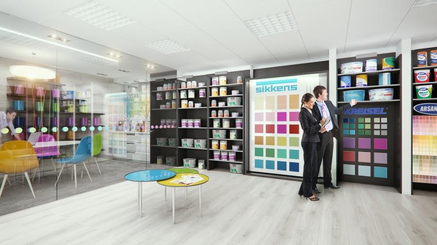 Centrum Elewacji Racibórz Salon sprzedaży farb Sikkens