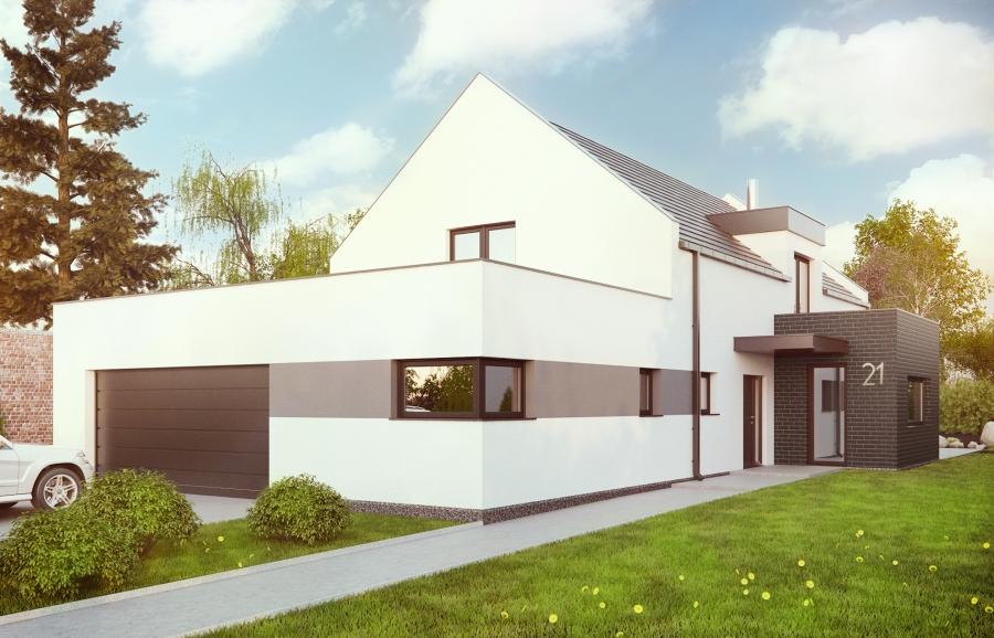 Projekt domu jednorodzinnego Racibórz